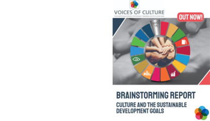 VOC report on Culture and the UN Sustainable Development Goals